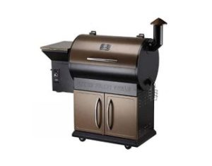 Z Grills Wood Pellet Grill Smoker Combo